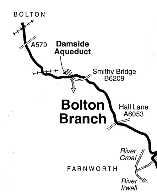 Map of Bolton Arm
