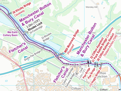 Waterway Routes Maps